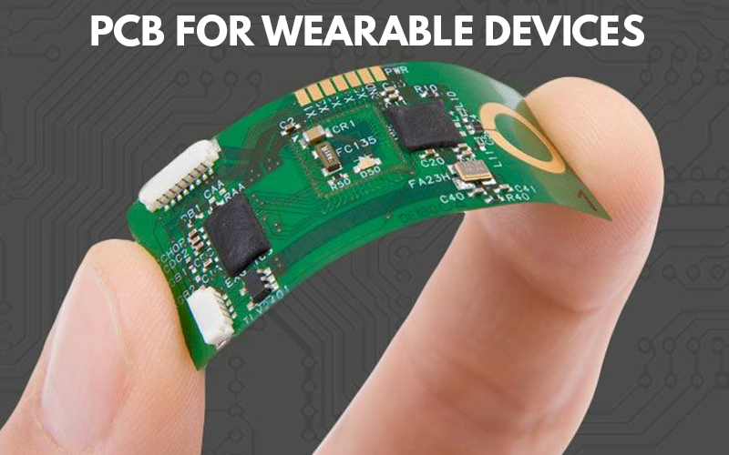 PCB for wearable devices