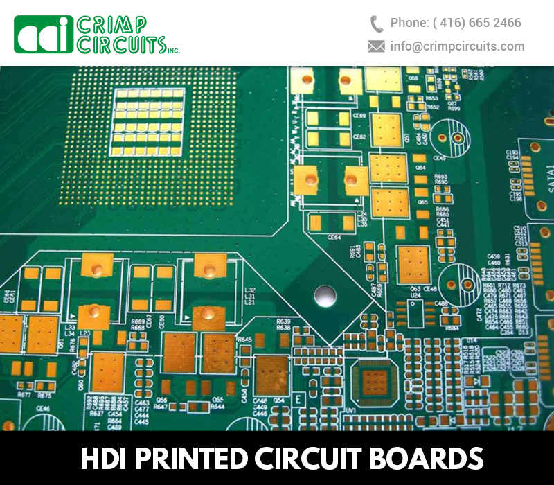 Advantages of HDI PCBs