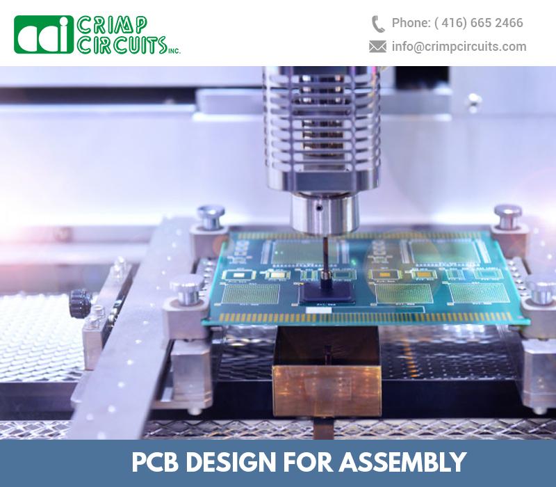 PCB Design for assembly
