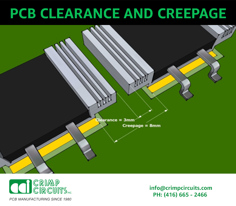 Clearance and Creep page Rules for PCB Assembly